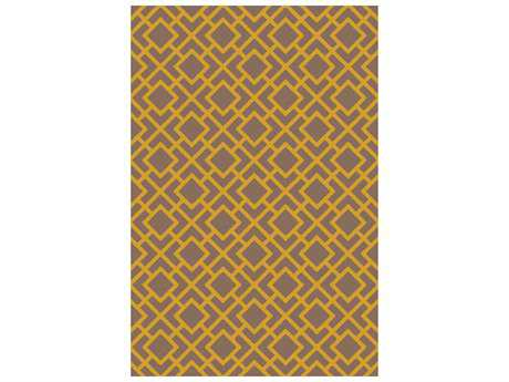 Surya Gable Rectangular Gold Area Rug