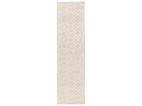 Surya Gable Rectangular Beige Runner Rug