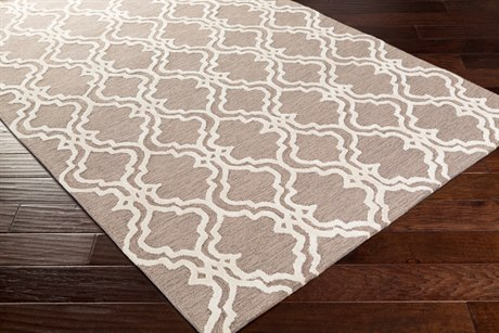 Surya Gable Rectangular Ivory Area Rug