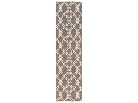 Surya Gable Rectangular Ivory Runner Rug