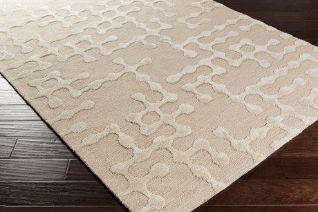 Surya Gable Rectangular Beige & Ivory Area Rug