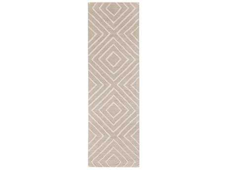 Surya Gable Rectangular Khaki & Ivory Runner Rug