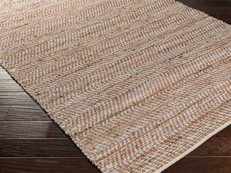 Surya Gideon Rectangular Rust Area Rug