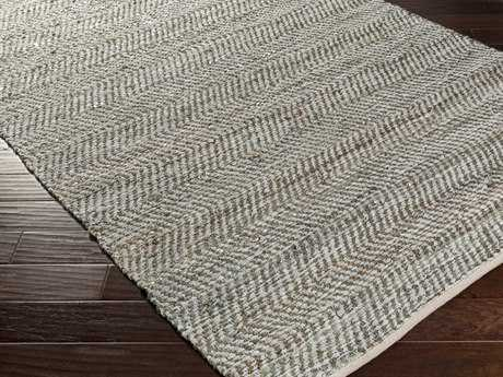 Surya Gideon Rectangular Gray Area Rug
