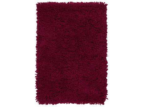 Surya Goddess Rectangular Burgundy Area Rug
