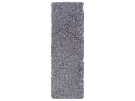 Surya Goddess 2'6'' x 8' Rectangular Medium Gray Runner Rug