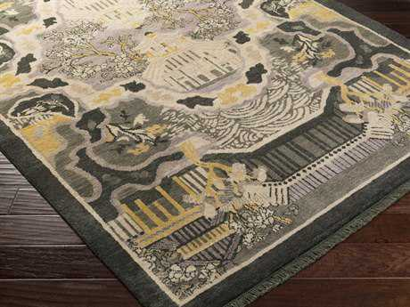 Surya Geisha Rectangular Forest Area Rug