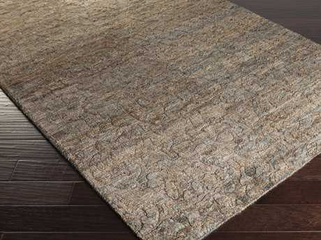 Surya Galloway Rectangular Chocolate Area Rug