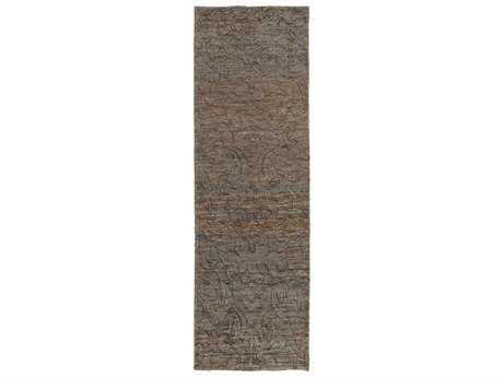 Surya Galloway 2'6'' x 8' Rectangular Chocolate Runner Rug