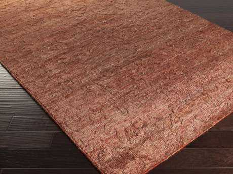 Surya Galloway Rectangular Burgundy Area Rug