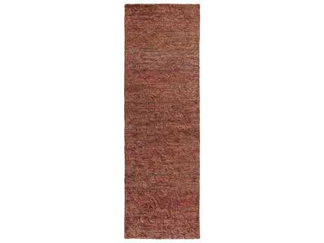 Surya Galloway 2'6'' x 8' Rectangular Burgundy Runner Rug