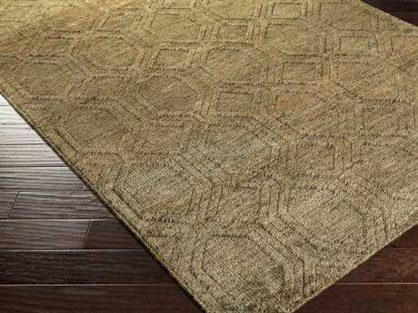 Surya Galloway Rectangular Olive Area Rug