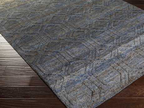 Surya Galloway Rectangular Navy Area Rug