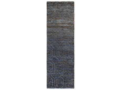 Surya Galloway 2'6'' x 8' Rectangular Navy Runner Rug