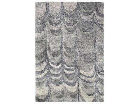 Surya Gemini Rectangular Black, Navy & Medium Gray Area Rug