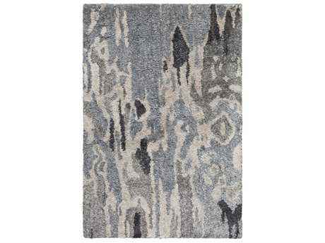 Surya Gemini Rectangular Charcoal, Black & Taupe Area Rug