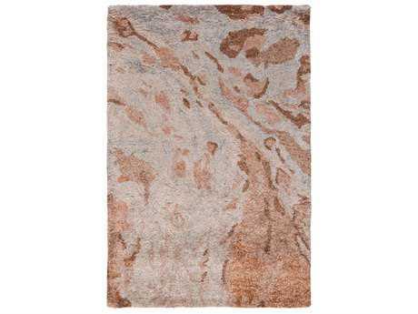 Surya Gemini Rectangular Rust, Burnt Orange & Camel Area Rug