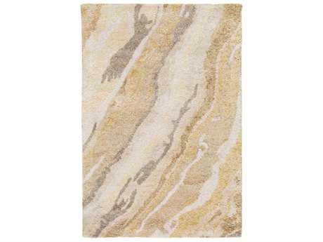 Surya Gemini Rectangular White, Cream & Butter Area Rug