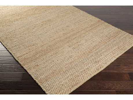 Surya Grasshopper Rectangular Beige & Burnt Orange Area Rug