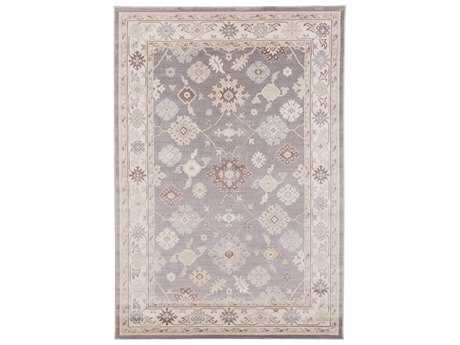 Surya Garnett Rectangular Gray Area Rug