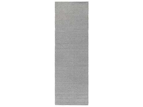 Surya Gunner 2'6'' x 8' Rectangular Medium Gray Runner Rug