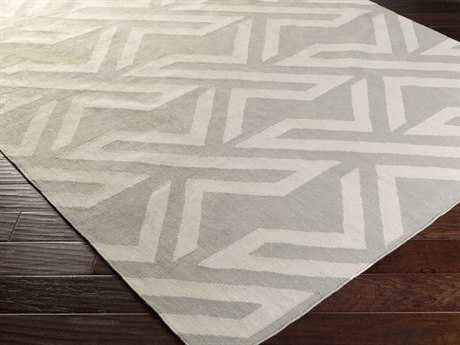 Surya Galvany Rectangular Light Gray Area Rug