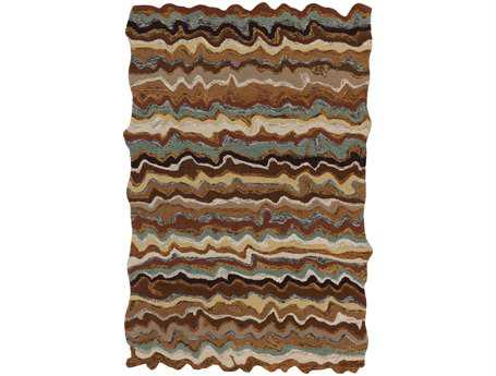 Surya Gypsy Rectangular Brown Area Rug