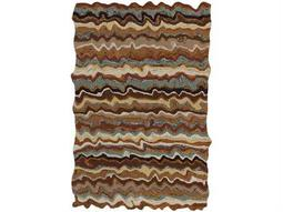 Surya Gypsy Rectangular Brown Area Rug