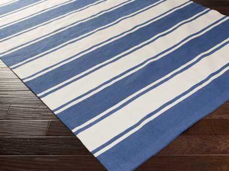 Surya Habersham Rectangular Cobalt Area Rug