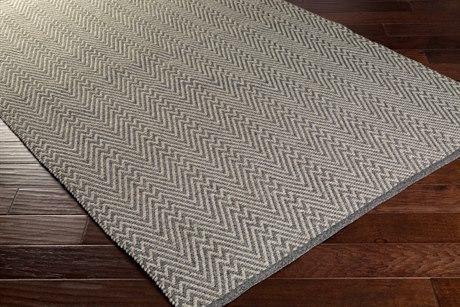 Surya Hadis Rectangular Gray Area Rug