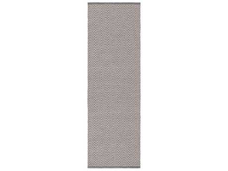 Surya Hadis 2'6'' x 8' Rectangular Gray Runner Rug