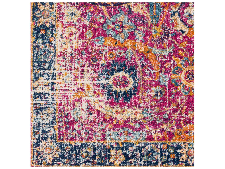 surya harput rectangular bright pink navy burnt orange area rug syhap1013rec. Black Bedroom Furniture Sets. Home Design Ideas