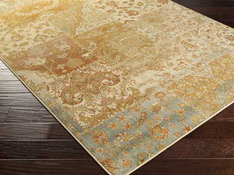 Surya Hathaway Rectangular Gold Area Rug