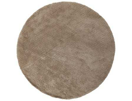 Surya Heaven 8' Round Brown Area Rug