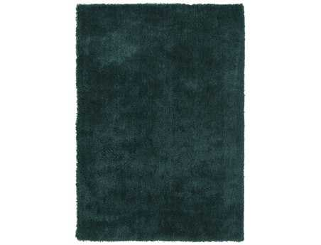 Surya Heaven Rectangular Teal Area Rug