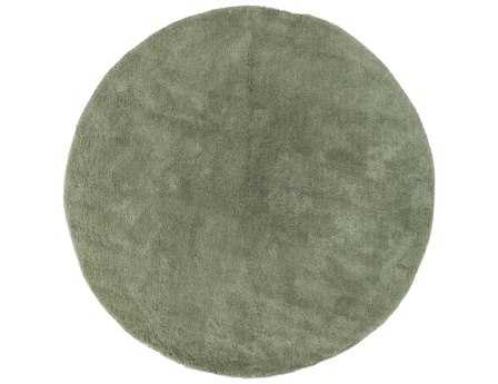 Surya Heaven 8' Round Green Area Rug