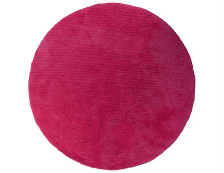 Surya Heaven 8' Round Pink Area Rug