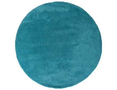 Surya Heaven 8' Round Blue Area Rug