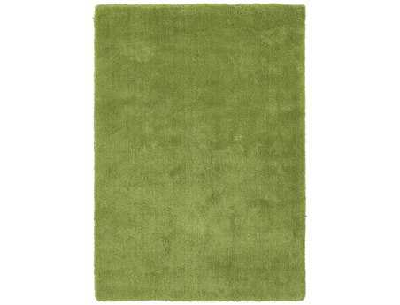 Surya Heaven Rectangular Green Area Rug