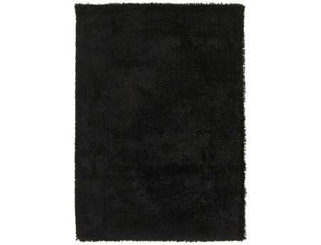 Surya Heaven Rectangular Black Area Rug