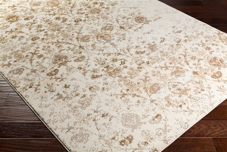 Surya Henre Rectangular Wheat, Camel & Cream Area Rug