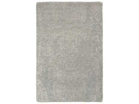 Surya Henna Rectangular Sea Foam & Medium Gray Area Rug