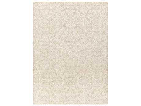 Surya Henna Rectangular Khaki & Cream Area Rug