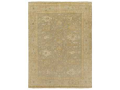 Surya Hillcrest Rectangular Sea Foam, Grass Green & Khaki Area Rug