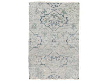 Surya Hillcrest Rectangular Sea Foam Area Rug