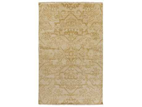 Surya Hillcrest Rectangular Gold Area Rug