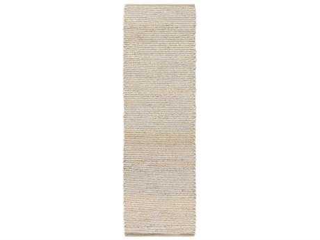 Surya Hollis 2'6'' x 8' Rectangular Medium Gray & Khaki Runner Rug