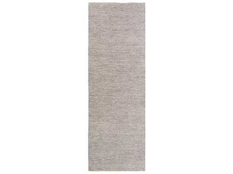 Surya Holmes 2'6'' x 8' Rectangular Charcoal Runner Rug