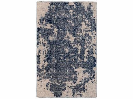 Surya Hoboken Rectangular Blue & Gray Area Rug SYHOO1000REC