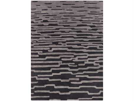 Surya Harlequin Rectangular Gray Area Rug